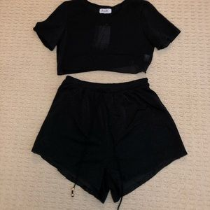 Sabo Skirt top and shorts set!